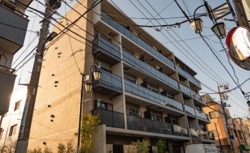 yutenji new apartment exterior